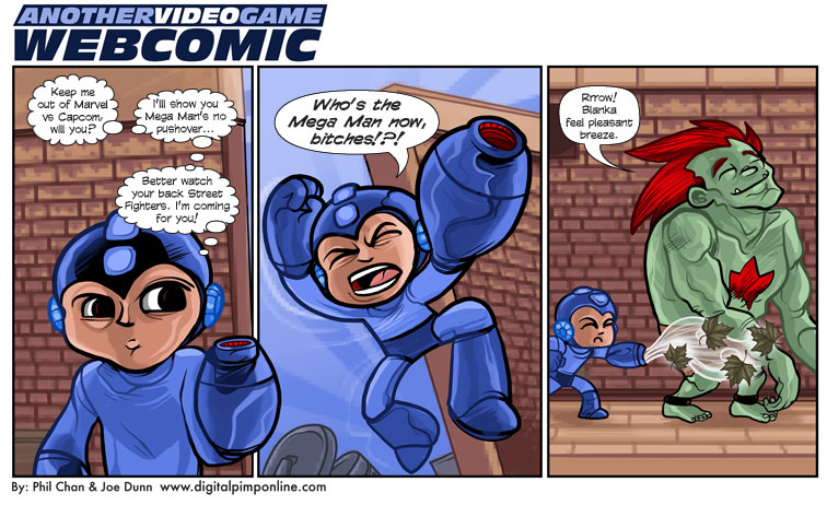 Images - Mega man comic strip