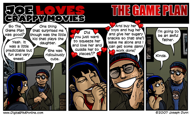 Joe Loves Crappy Movies #282 - 9/25/2007, Game Plan, The
