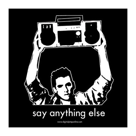 """Say Anything... else"" Baby Doll Shirt"