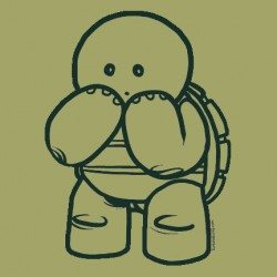 """""""Shy Turtle"""" shirt"""
