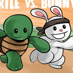 Turtle Vs. Bunny Trade Paperback