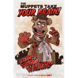 Zombie Fozzie Poster