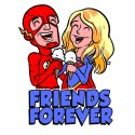 Friends Forever pin