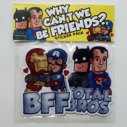 Why Can't We Be Friends sticker pack