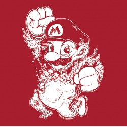 Monster Mario women's shirt