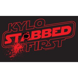 Kylo Stabbed First shirt