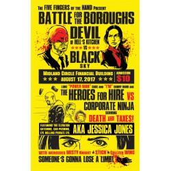 """Battle for the Boroughs"" shirt"