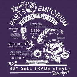 """Rocket's Parts Emporium"" shirt"