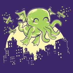 """Call of Cute-thulhu"" shirt"