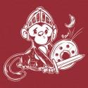 """""""Knight Monkey"""" women's shirt"""