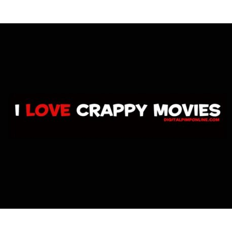 """I Love Crappy Movies"" Baby Doll T-Shirt"